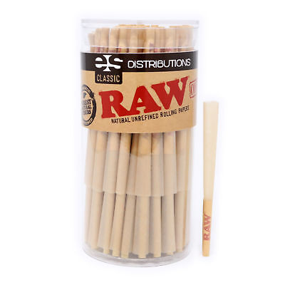 RAW Classic Lean Size Pre-Rolled Cones (100 Pack)
