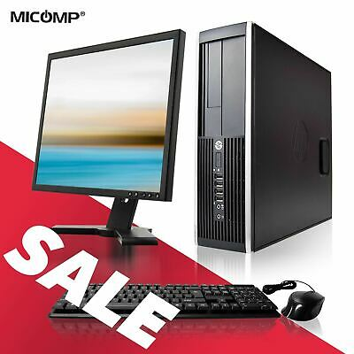 HP Desktop Computer 16GB 2TB HD 🚩 Core i5 8GB 500GB SSD 🚩 WiFi Windows 10  PRO