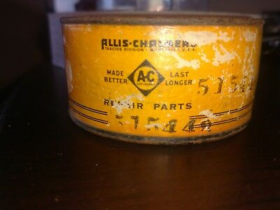 Allis Chalmers Tractor Repair parts 515448 sealed tin can Vintage