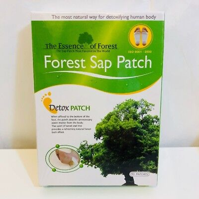 10x The Essence Of Forest Foot Patch Forest Sap Patch Natural Ingredient Detox