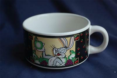Looney Tunes Bugs Bunny & Sylvester Soup Bowl W/ Tweety Homemade Specialties WB