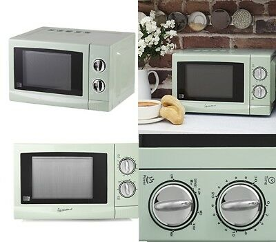 Signature 17L 700W Microwave Attractive Sage Color S24012