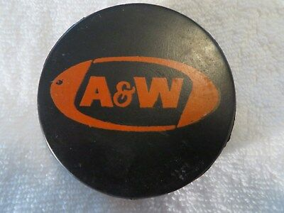 1970's A&W Advertising Hockey Puck