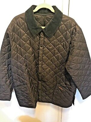 Barbour Heritage Men's Liddesdale Quilt Jacket XL Navy (Lightly Used)