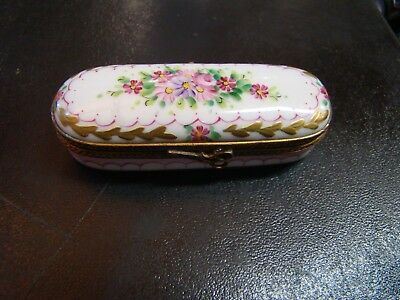 ROCHARD Pin box floral design sewing accessory flower trinket box