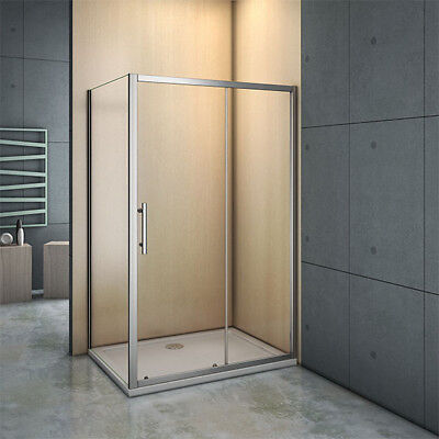 1000x700mm NANO Self Clean Glass Screen Shower Enclosure Sliding Door Side Panel