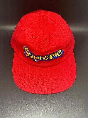 f7df83f8238 SUPREME GONZ LOGO 6-panel Cap Red Brand New -  85.00