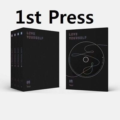 BTS-[Love Yourself 轉'Tear'] 3rd Album Random CD+Book+Card+Pre-Order