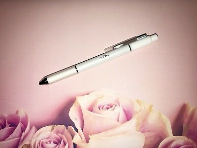 TUL Pearl Pen Limited Edition White Barrel w/ SILVER Accents Medium Point