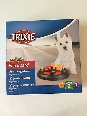 Trixie Pet Products Dog Activity Flip Board Level 2 - New