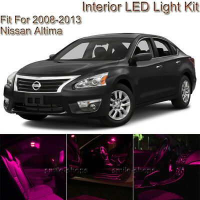 For Nissan Altima Coupe 2008 2013 Pink Led Interior Kit Pink