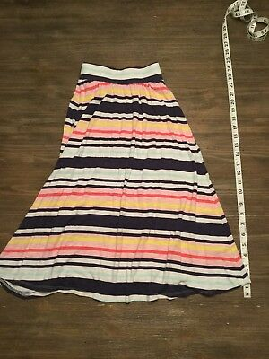 Cherokee Girls Maxi Skirt Multi Color Size Small 6-6x