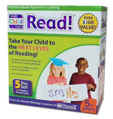 As New Your Child Can Read! Deluxe Kit (Rrp $99.99)