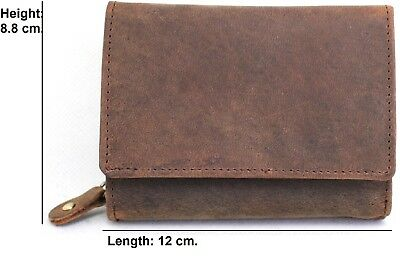 ladies genuine leather purse RFID Protected 22053