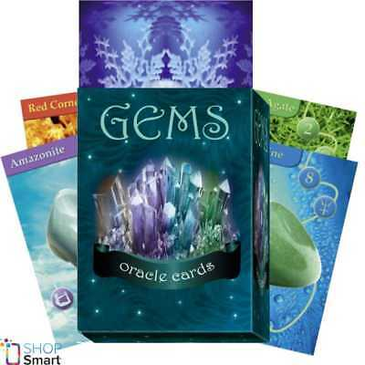 Gems Oracle Cards Deck Bianca Luca Esoteric Telling Lo Scarabeo New