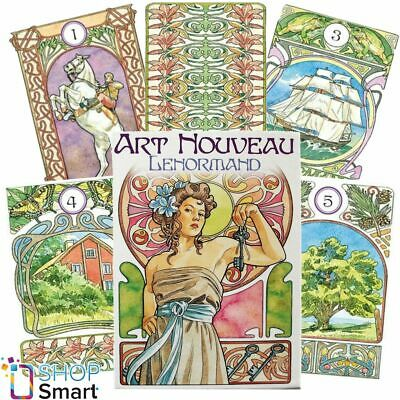 Art Nouveau Lenormand Oracle Cards Deck  Esoteric Telling Lo Scarabeo New