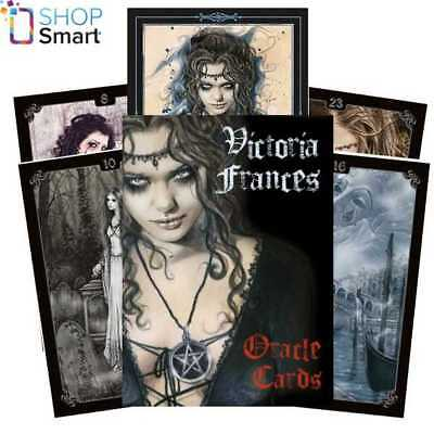 Victoria Frances Gothic Oracle Cards Deck  Esoteric Telling Lo Scarabeo New