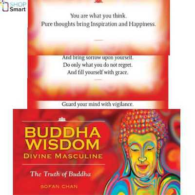 Buddha Wisdom Divine Masculine Cards Oracle Esoteric Us Games Systems