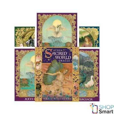 The Sacred World Oracle Deck Cards Esoteric Telling Us Games Systems New