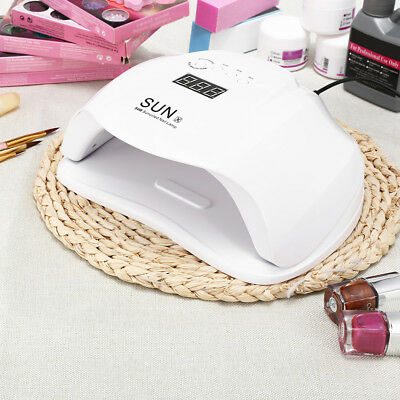 (54W)Professional SUNX UV LED Curing Nail Art Lamp Machine For Gel Polish Makeup