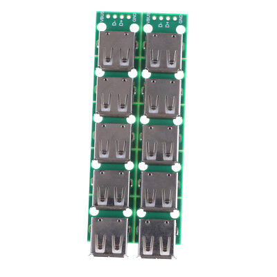 10PCS Type A DIP Female USB To 2.54mm PCB Board Adapter Converter For Arduino ~~