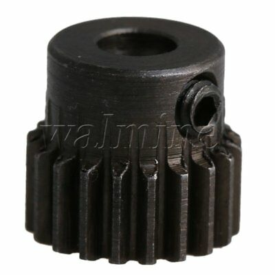 11x11mm 0.5 Modulus 20T Motor Pinion Gear 4mm Hole Dia for RC Car Models