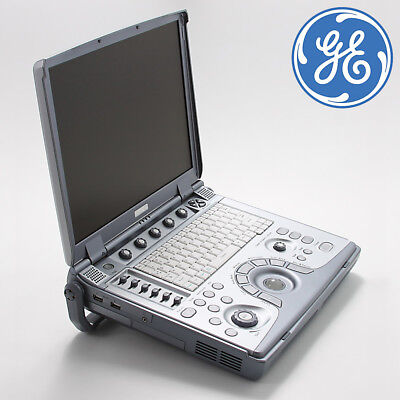 GE LOGIQ E Portable Ultrasound with E8C-RS Vaginal Transducer & Convex Probe