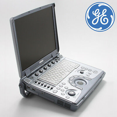 Portable GE LOGIQ E Ultrasound System - E8C-RS Vaginal & Convex Probe
