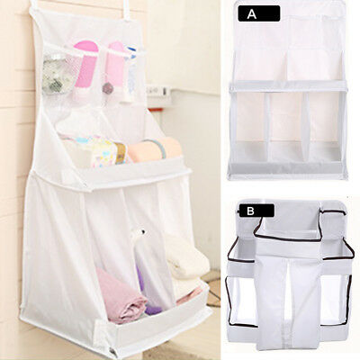 Baby Bed Cot Closet Nursery Toys Diaper Storage Organizer Hanging Bag Durable