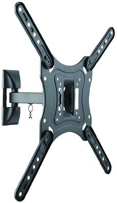 "VESA Single TV Wall Mounting ARM 23"" to 55"" Screen Tilt ROTATE Turn FULL MOTION"