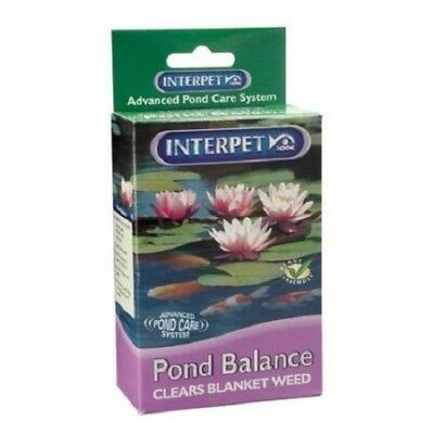 Interpet Pond Balance-8752 Treats a 3600 Gallon Pond 3 Times, Clears Blanketweed