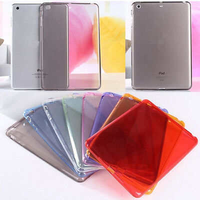 For iPad 9.7 2018 / iPad 6th Gen Slim TPU Silicone Soft Case Clear Protect Cover