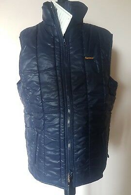 New Barbour D330 Trapper Waistcoat Insulated Gilet Vest Vintage New Old Stock