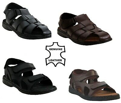 New Mens Summer Walking Sports Hiking Beach Holiday Boys Sandals Shoes Size 7-12