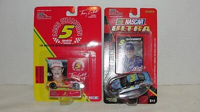 (2) Racing Champions  1:64 Scale #5 Terry Labonte Die Cast Cars