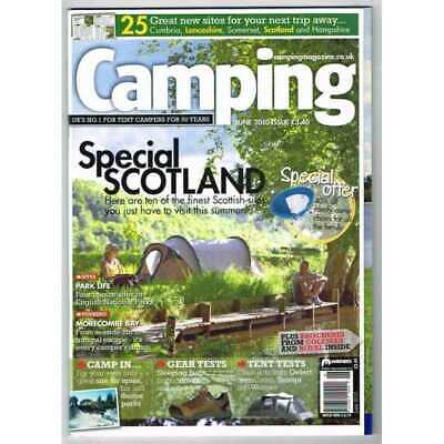Camping Magazine June 2010 MBox3215/D  Special Scotland - Park Life