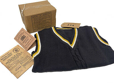 1940's-Wartime-Schools-KNITTED TANK TOP, GAS MASK BOX-LABEL-RATION BOOK-ID CARD