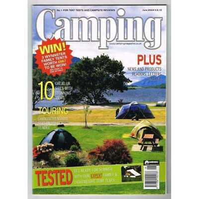 Camping Magazine June 2004 MBox3217/D  10 Great UK sites with stunning views