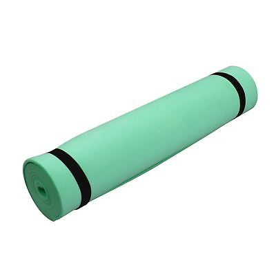 Camping Eva Foam Mats Outdoor Roll Up Gym Exercise Sleeping Crash Mat Pad-Green
