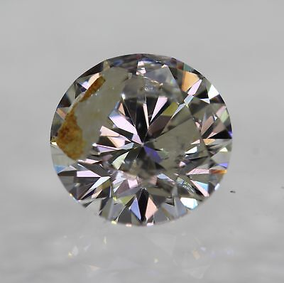 Certified 1.08 Ct I Color Round Brilliant Enhanced Natural Loose Diamond 6.53mm