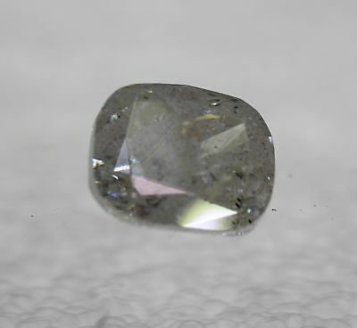 Certified 2.12 Ct H Color Cushion Enhanced Natural Loose Diamond 8.04x6.85mm 2VG