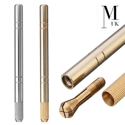 Microblading Pen - SPMU Tool - Manual Needle Microblade Holder - Gold / Silver