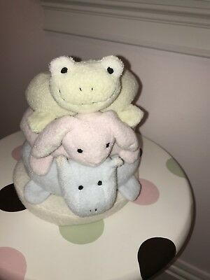 Pottery Barn Kids Little Critter Stacker So Cute Baby Nursery Toddler Pastels