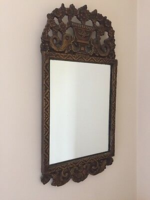"Vintage Mirror Wall 29"" long x 13 1/2"" wide"
