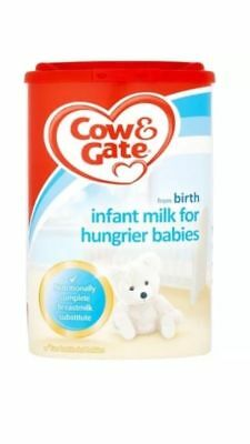 Cow & Gate Hungier Babies from Birth Powder 1 x 900gm Dated 16/06/2018