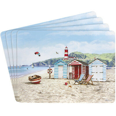 New Sandy Bay Design Set of Four Place Mats - LP93310