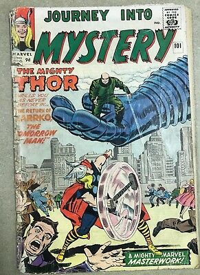 Journey into Mystery Comic 101 February 1964