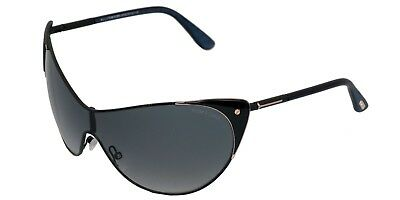 785858a338 TOM FORD MILA Grey Gradient Oval Sunglasses FT0403 52B -  90.99 ...