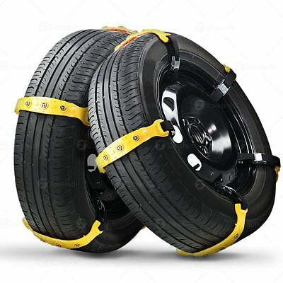 Zone Tech Thick Anti Skid - Tire Snow Mud Chains Car Traction Emergency Driving