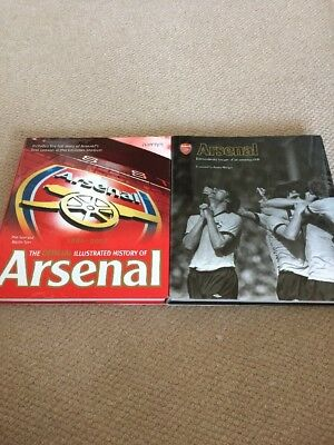 2 Arsenal Hardback Books